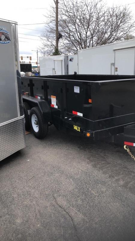 2019 Big Tex Trailers 14LX-12 Dump Trailer-WHEAT RIDGE