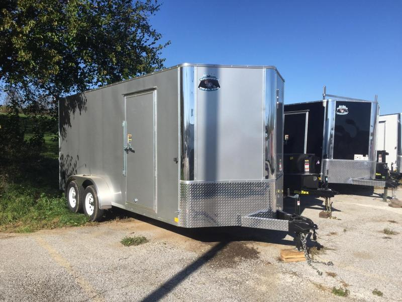 2018 Other 7x16 Big Horn Contractor Enclosed Cargo Trailer