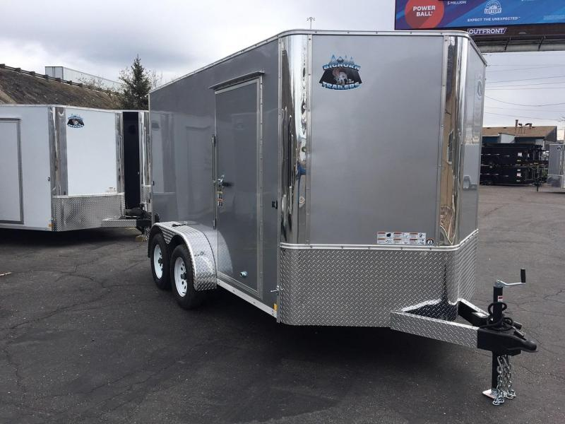 2019 R and M Manufacturing EC 7 12 TA (CONTRACTOR GRADE) Enclosed Cargo Trailer-WHEAT RIDGE