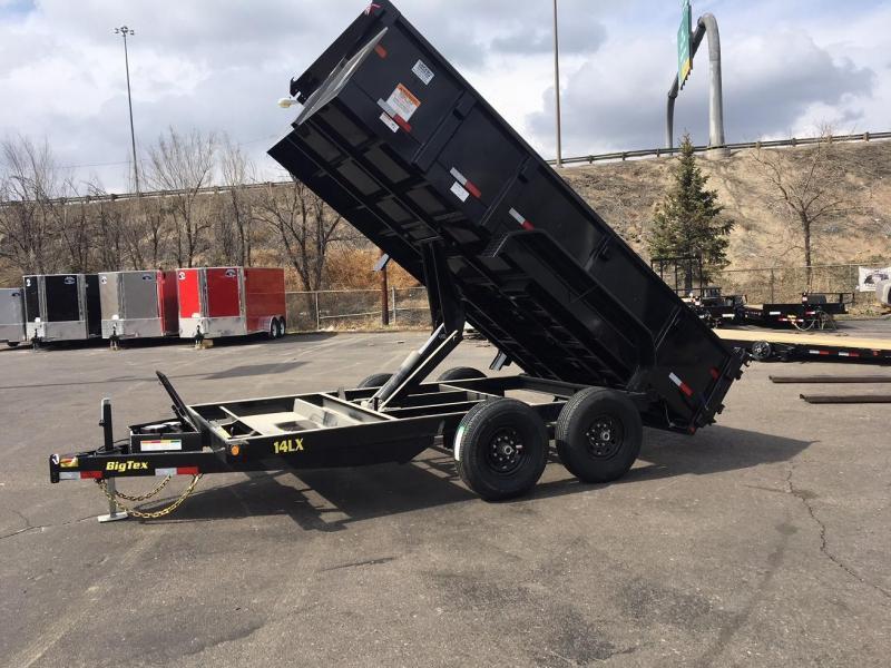 2019 Big Tex 14LX-14 W/SCISSOR LIFT HOIST Dump Trailer-Wheat Ridge