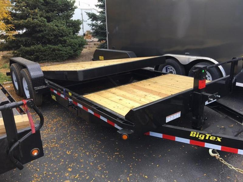 2018 Big Tex Trailers 14tTL-20 Gravity Tilt Trailer Equipment Trailer-WHEAT RIDGE