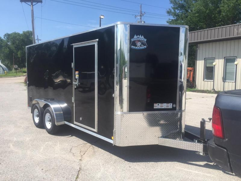 2019 R and M Manufacturing Contractor 7.16 10K Enclosed Cargo Trailer