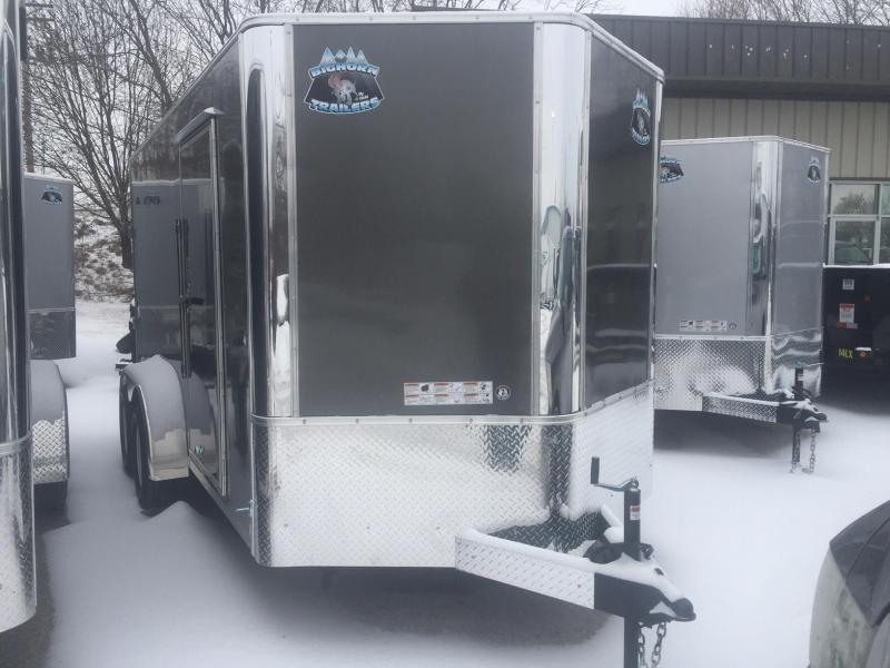 2018 RM Manufacturing EC 7 14 TA Enclosed Cargo Trailer
