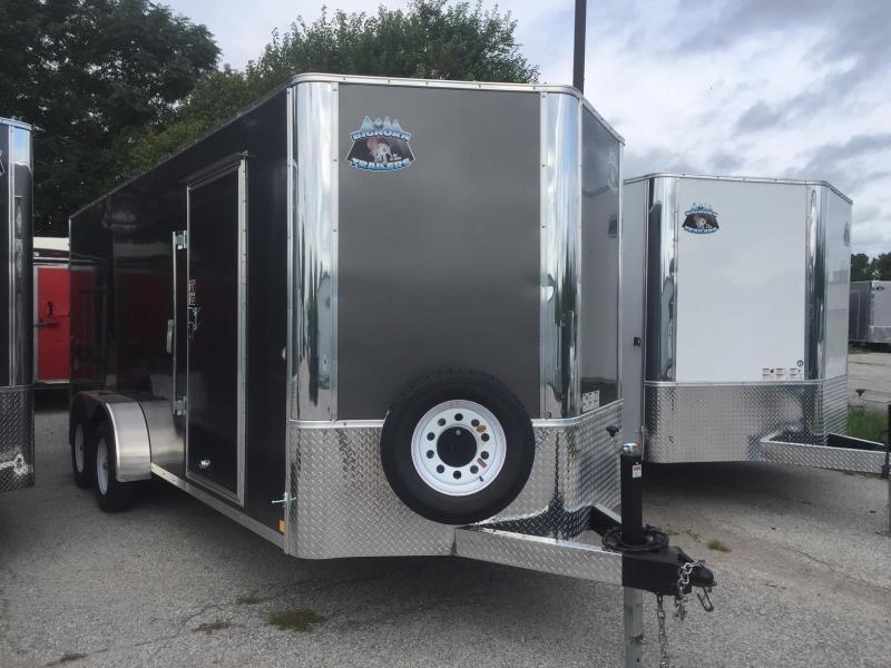 2019 R and M Manufacturing EC 7 18 TA 7K Enclosed Cargo Trailer