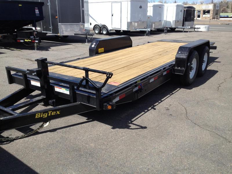 2017 Big Tex Trailers 14FT-18 Tilt Equipment Trailer-CO SPRINGS