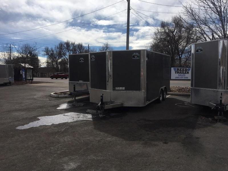 2020 R&M 8.5x16 v-nose TAC Enclosed Cargo Trailer-Wheat Ridge