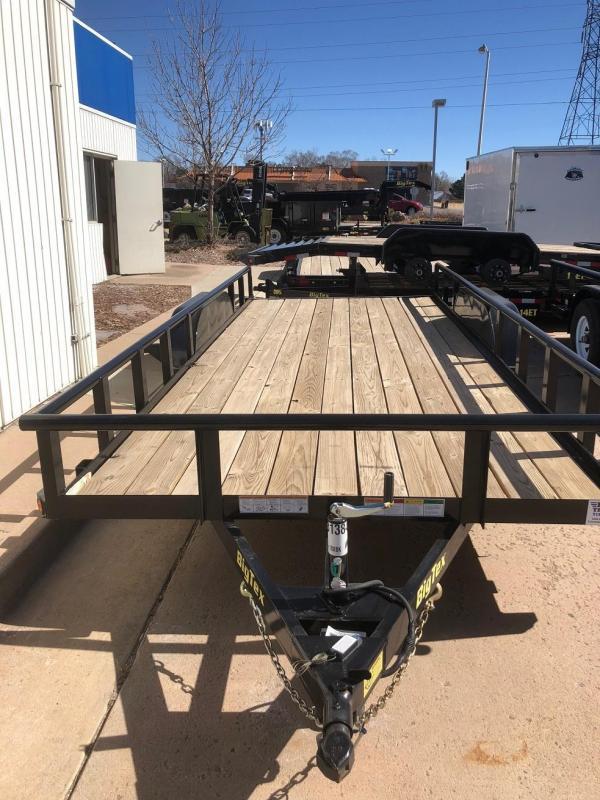 2017 Big Tex Trailers 70PI-18 Utility Trailer-CO SPRINGS