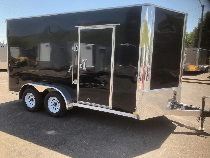 "2020 R&M 7x14 v-nose 84"" (TAC) Enclosed Cargo Trailer-Wheat Ridge"