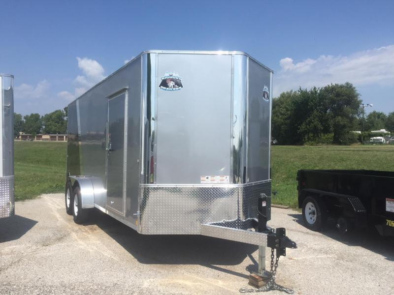 2019 R and M Manufacturing EC 7 18 TA 10K Enclosed Cargo Trailer