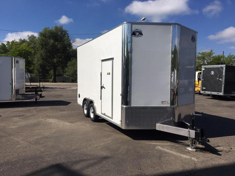 2019 R and M Manufacturing EC 8.5X16 (CONTRACTOR GRADE) Enclosed Cargo Trailer-WHEAT RIDGE