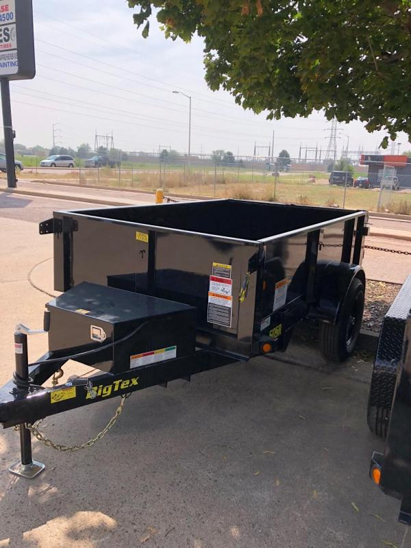 2019 Big Tex Trailers 50SR-08 Dump Trailer-CO SPRINGS