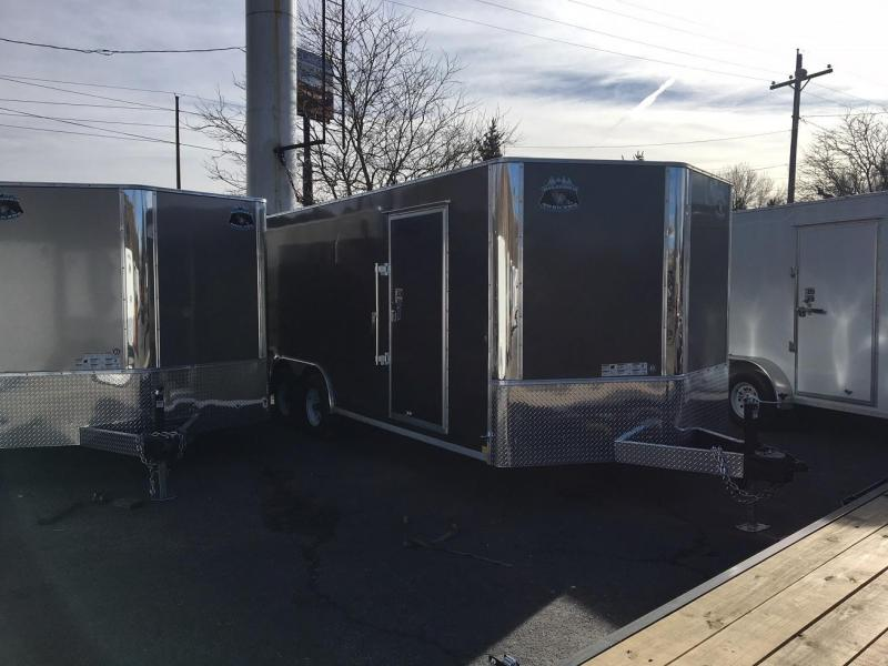 2018 RM Manufacturing EC 8.5 20 TA (CONTRACTOR GRADE) Car / Racing Trailer