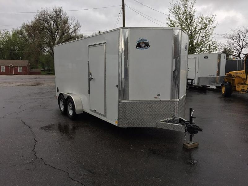 2018 RM Manufacturing EC 7 16 TA (CONTRACTOR GRADE) Enclosed Cargo Trailer
