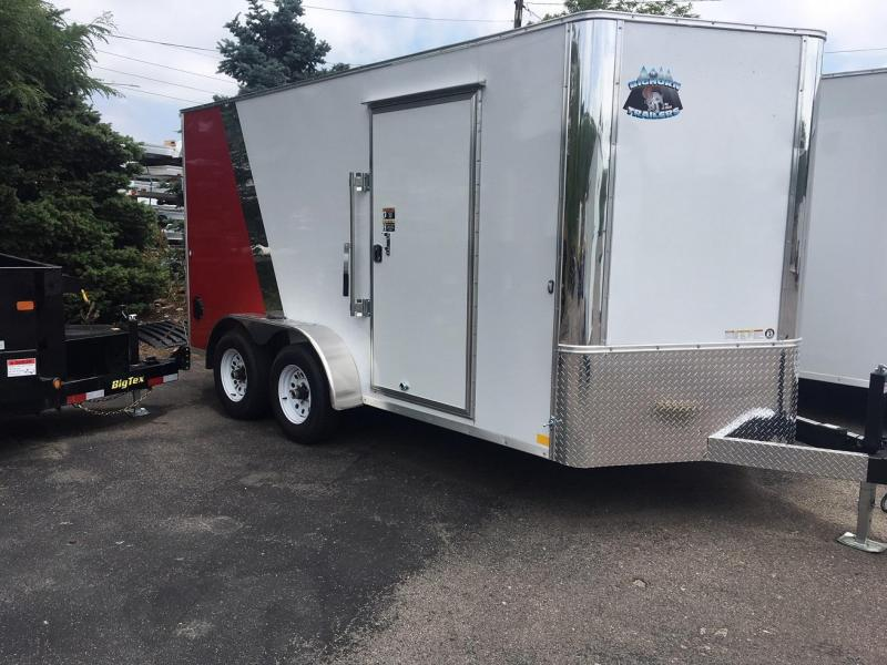2019 R and M Manufacturing EC 7 14 TA (CONTRACTOR GRADE) Enclosed Cargo Trailer-WHEAT RIDGE