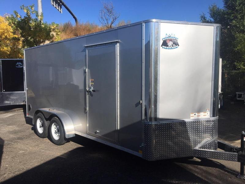 2019 R&M MFG 7x16 TAC Enclosed Cargo Trailer-Wheat Ridge