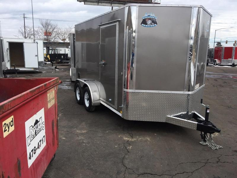 2019 R&M 7x12 (TAC) Enclosed Cargo Trailer-WHEAT RIDGE