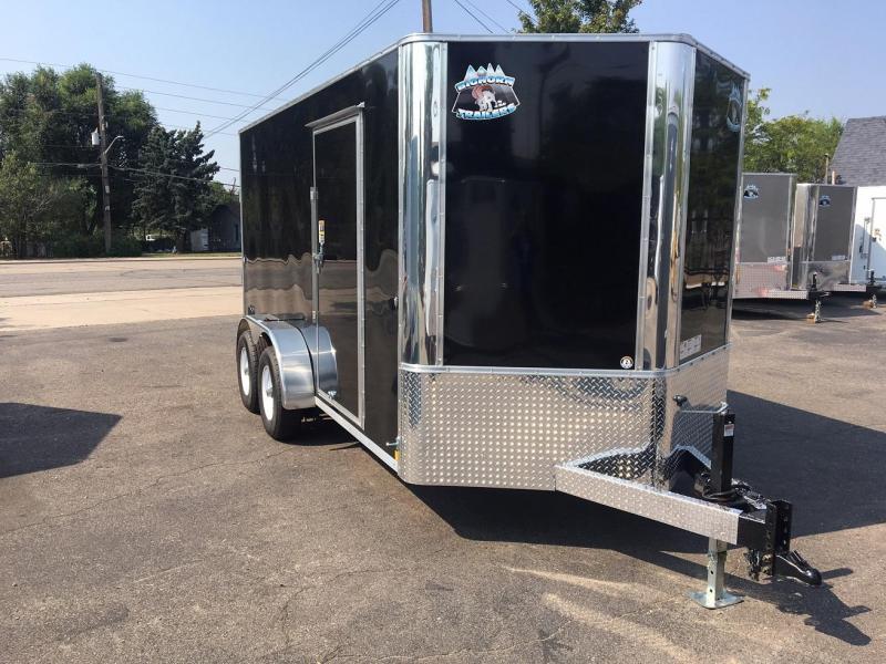 2019 R and M Manufacturing EC 7 14 TA (CONTRACTOR GRADE) Enclosed Cargo Trailer-WHEAT RIDGE