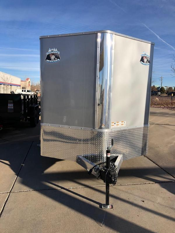 2019 R&M Manufacturing 7x14v-nose (TAS) Enclosed Cargo Trailer