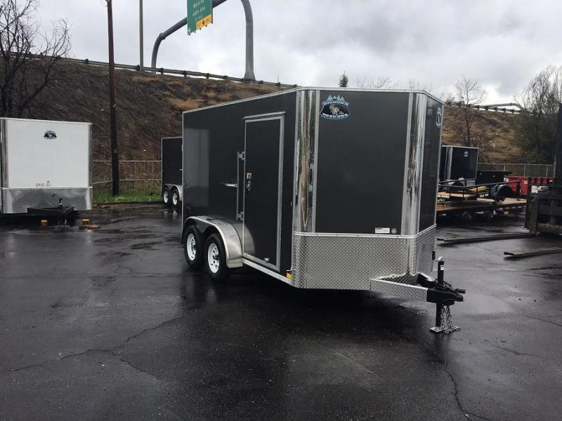 2018 RM Manufacturing EC 7 12 TA (CONTRACTOR GRADE) Enclosed Cargo Trailer-WHEAT RIDGE