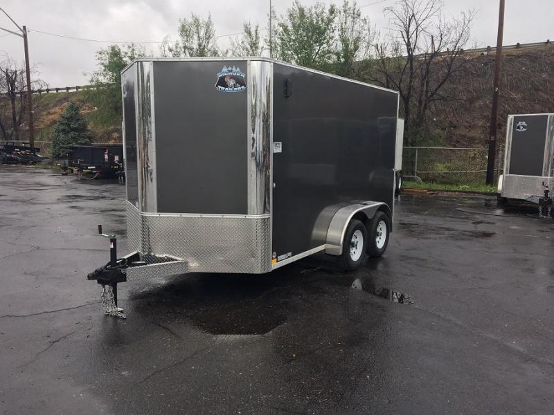 2018 RM Manufacturing EC 7 12 TA (CONTRACTOR GRADE) Enclosed Cargo Trailer-WHEAT RIDGE