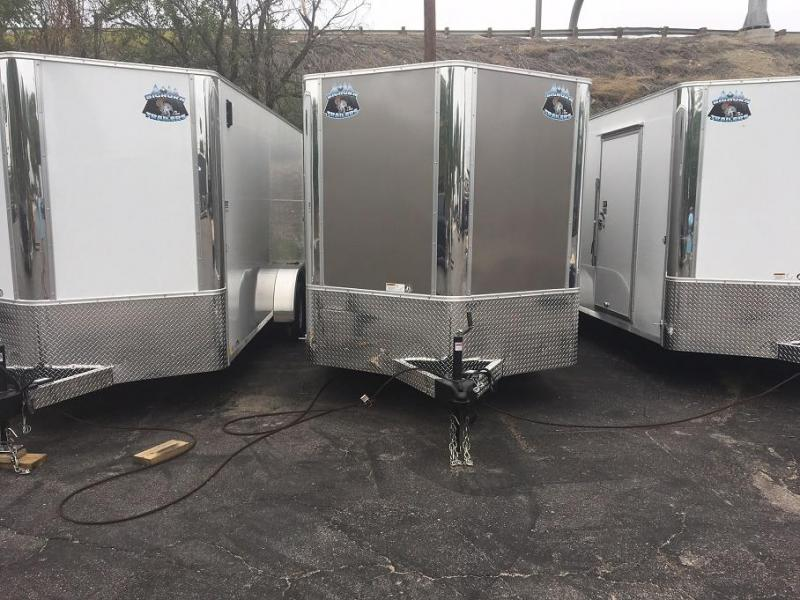 2018 RM Manufacturing EC 7 16 TA (CONTRACTOR GRADE) Enclosed Cargo Trailer-WHEAT RIDGE