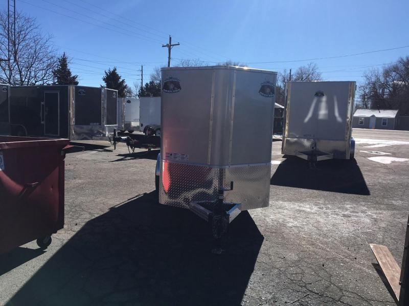 2018 R and M Manufacturing EC 5 10 SA Enclosed Cargo Trailer-WHEAT RIDGE