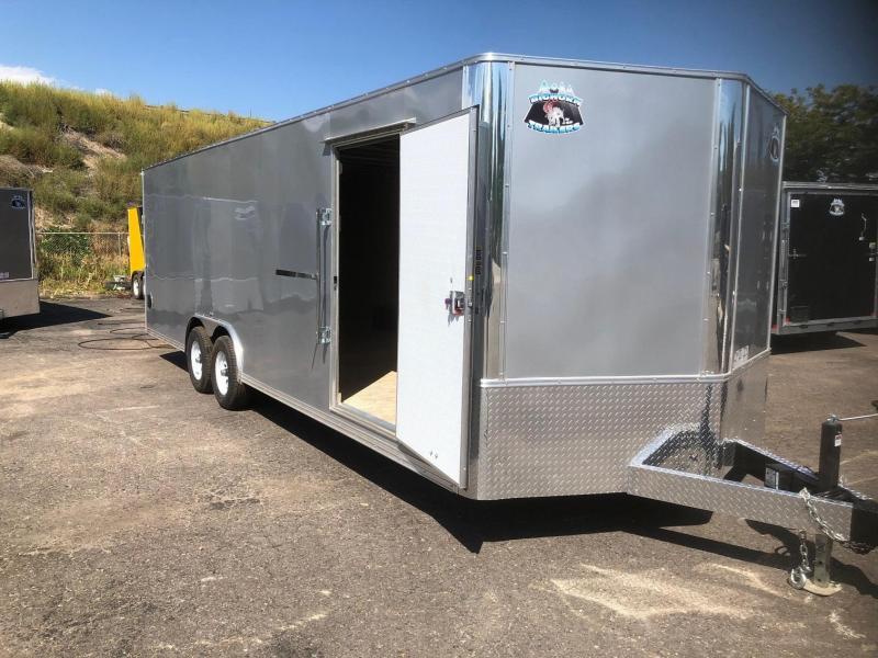 2020 R&M 8.5x24 v-nose 10k Car / Racing Trailer-Wheat Ridge