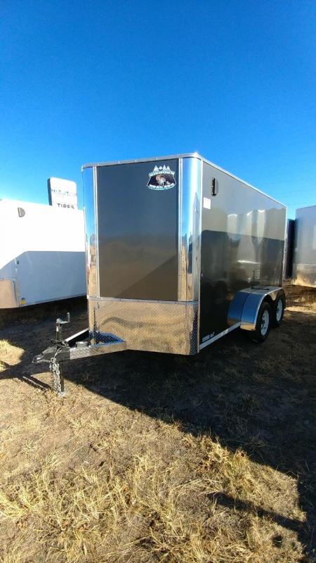 2018 RM Manufacturing EC 7 12 TA (CONTRACTOR GRADE) Enclosed Cargo Trailer-CO Springs