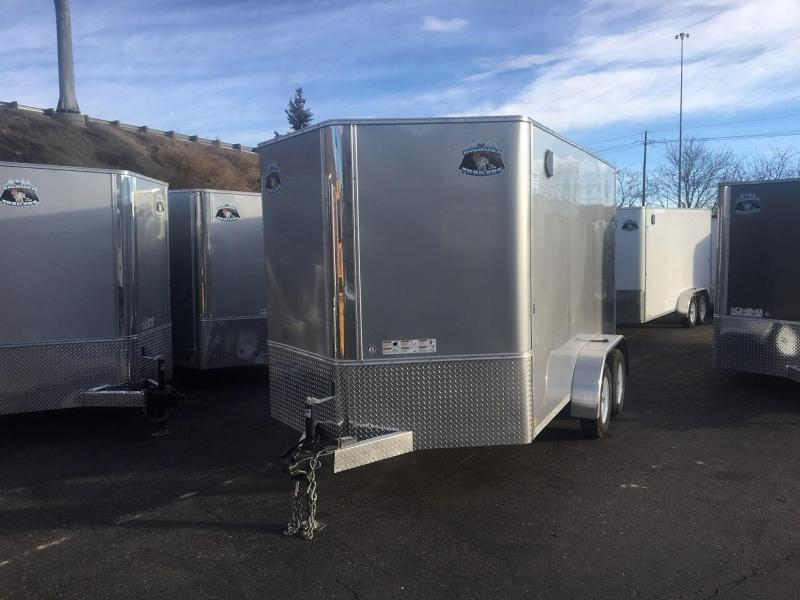 2020 R&M 7x12 v-nose TAS Enclosed Cargo Trailer-Wheat Ridge
