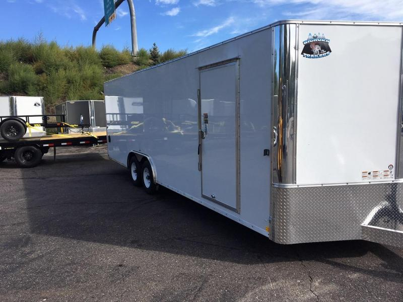 2019 R and M Manufacturing EC 8.5 24 TA (CONTRACTOR GRADE) Car / Racing Trailer-WHEAT RIDGE