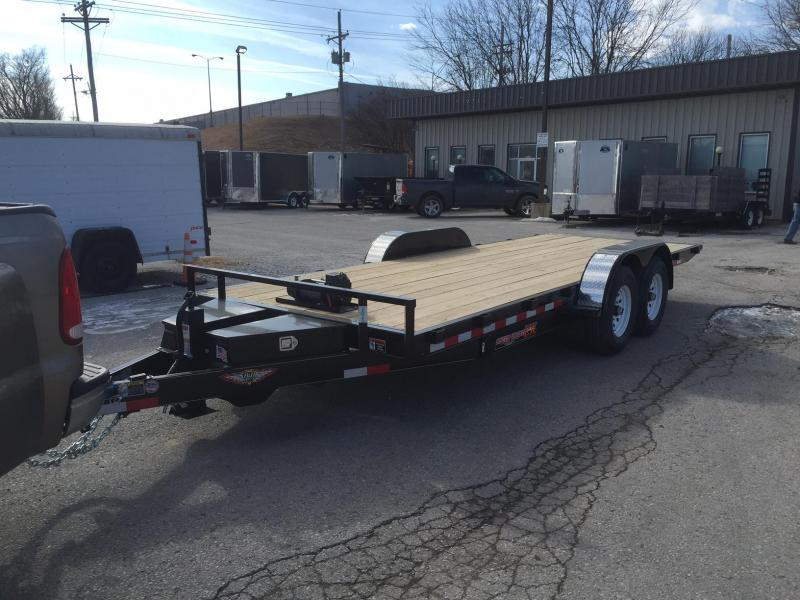 2018 H and H Trailer H8220EX-140 Equipment Trailer