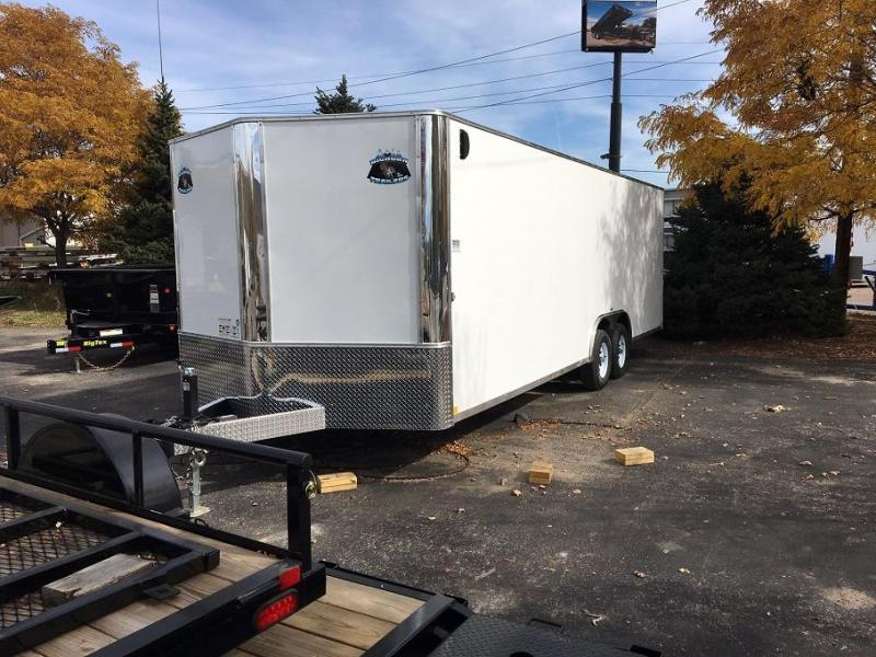 2018 RM Manufacturing EC 8.5 24 TA (Contractor Grade) Car / Racing Trailer-WHEAT RIDGE