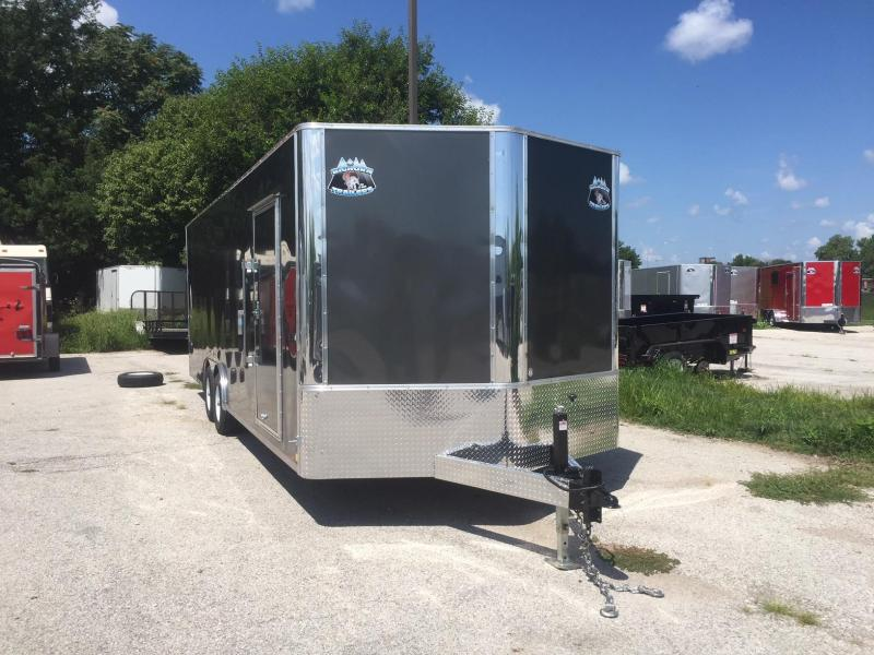 2019 R and M Manufacturing EC 8.5 24 TA 84 Enclosed Cargo Trailer