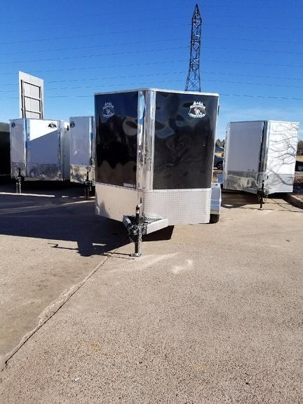 2018 RM Manufacturing EC 7 12 TA (STANDARD GRADE) Enclosed Cargo Trailer-CO SPRINGS