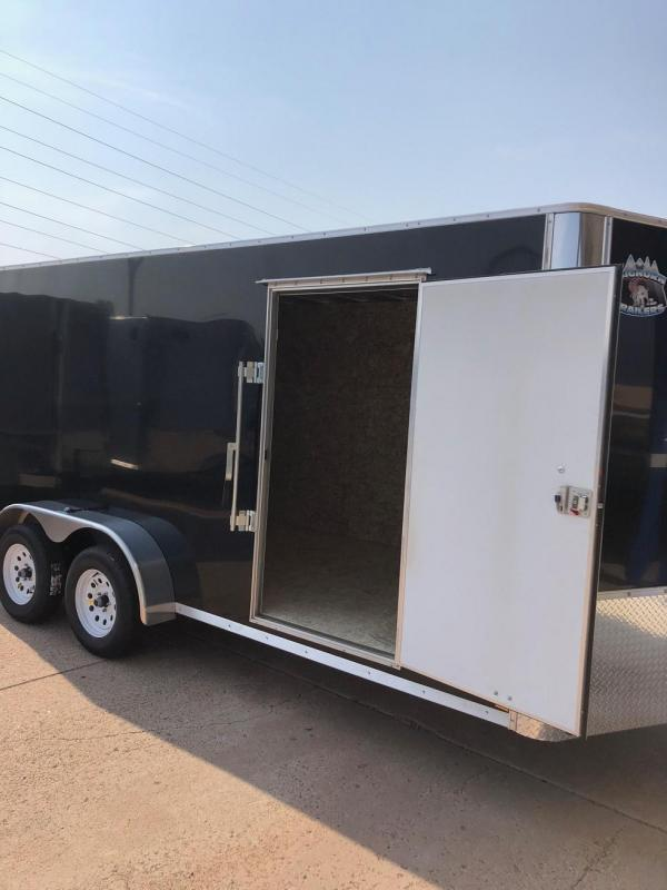 2020 R&M 7x16 v-nose TAC Enclosed Cargo Trailer-Colorado Springs