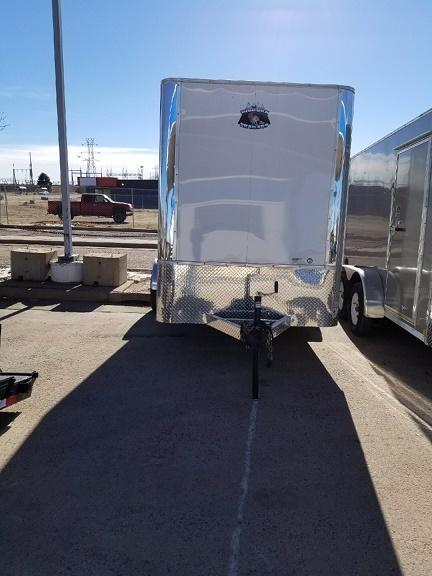 2018 RM Manufacturing EC 6 10 SA (CONTRACTOR GRADE) Enclosed Cargo Trailer-CO SPRINGS