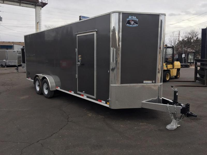 2018 RM Manufacturing EC 7 22 TA (CONTRACTOR GRADE) Enclosed Cargo Trailer-WHEAT RIDGE