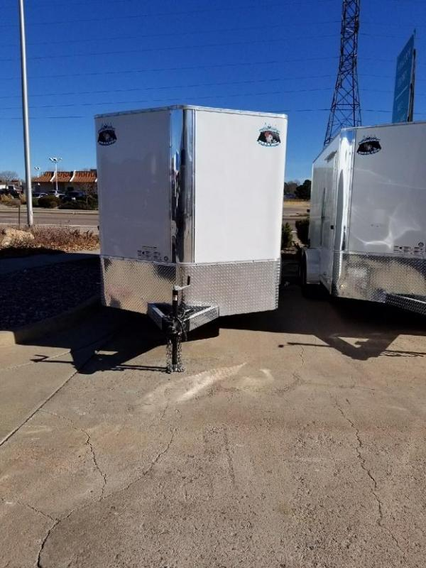 2018 RM Manufacturing EC 7 16 TA (STANDARD GRADE) Enclosed Cargo Trailer-CO SPRINGS