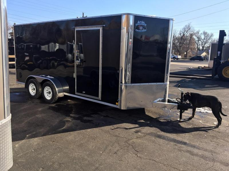 2019 R&M Manufacturing 7x16 TAC Enclosed Cargo Trailer-Wheat Ridge