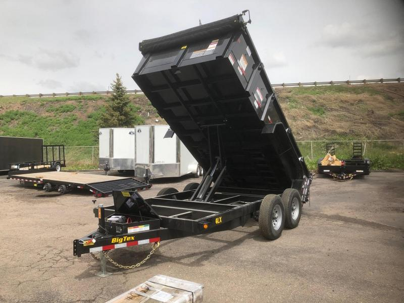 2020 Big Tex 14LX-14' Scissor Lift Hoist Dump Trailer-Wheat Ridge