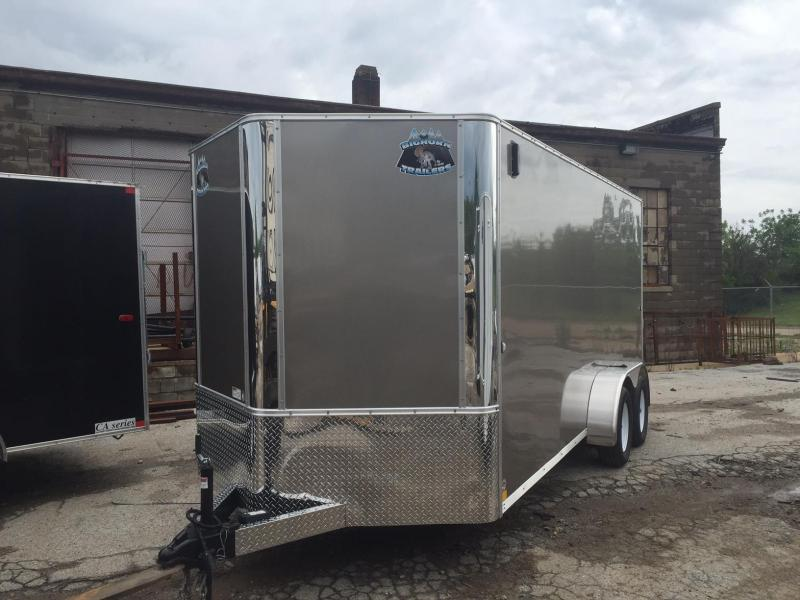2018 Other Big Horn Contractor Enclosed Cargo Trailer