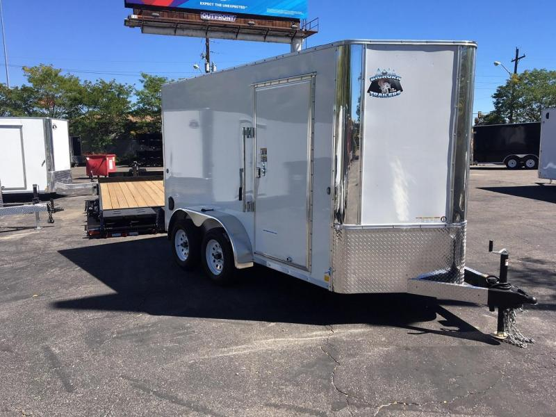2019 R and M Manufacturing EC 6 12 TA Enclosed Cargo Trailer-WHEAT RIDGE