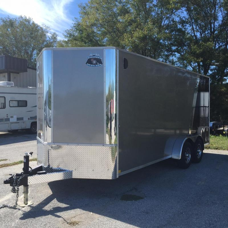 2018 Other 7x18 Big Horn Contractor Enclosed Cargo Trailer