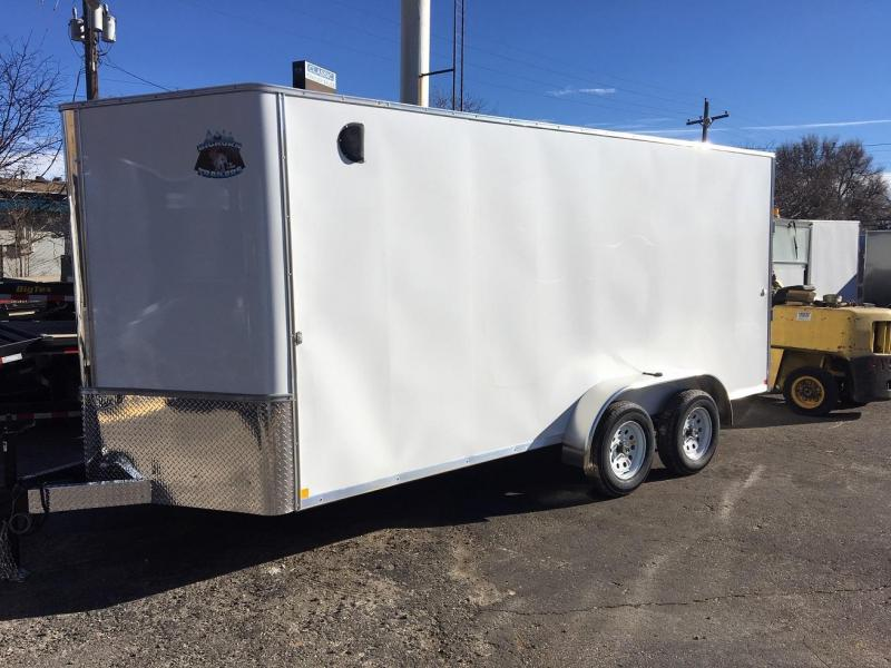 2019 R&M Manufacturing 7x16 TAS Enclosed Cargo Trailer-WHEAT RIDGE