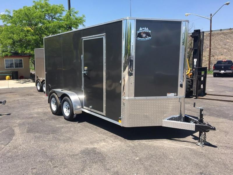 2019 RM Manufacturing EC 7 14 TA (CONTRACTOR GRADE) Enclosed Cargo Trailer-WHEAT RIDGE