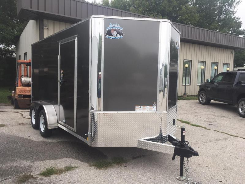 2019 R and M Manufacturing EC 7 14 TA Enclosed Cargo Trailer