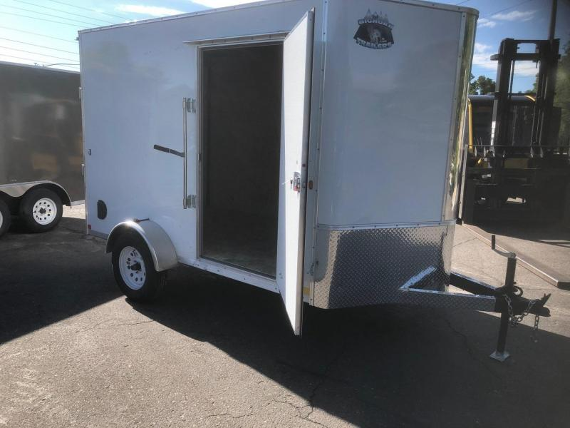 2020 R&M 6x10 v-nose (TAS) Enclosed Cargo Trailer-Wheat Ridge
