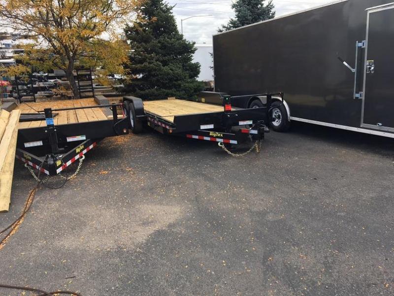 2017 Big Tex Trailers 14TL-20 Gravity Tilt Equipment Trailer-WHEAT RIDGE