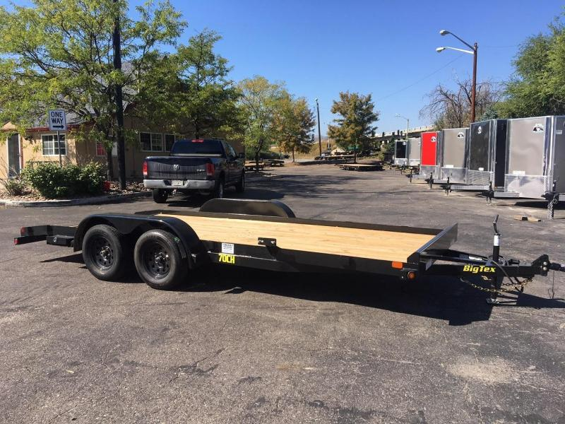 2018 Big Tex Trailers 70CH-20 W/DOVETAIL Car / Racing Trailer