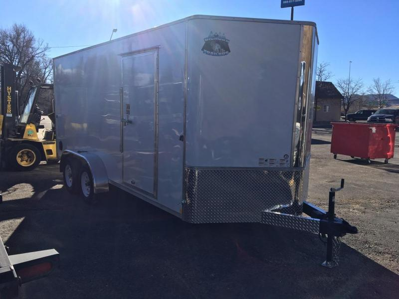 2020 R&M 7X16 V-NOSE (TAS) Enclosed Cargo Trailer-WHEAT RIDGE